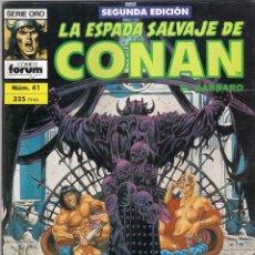 Cómics: LA ESPADA SALVAJE DE CONAN 2ª EDICIÓN. Nº 41. Lote 180443855