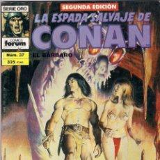 Cómics: LA ESPADA SALVAJE DE CONAN 2ª EDICIÓN. Nº 37. Lote 180443885