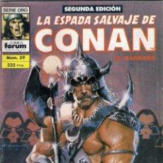 Cómics: LA ESPADA SALVAJE DE CONAN 2ª EDICIÓN. Nº 39. Lote 180443995