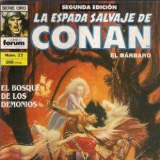 Cómics: LA ESPADA SALVAJE DE CONAN 2ª EDICIÓN. Nº 32. Lote 180444016