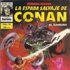 Cómics: LA ESPADA SALVAJE DE CONAN 2ª EDICIÓN. Nº 30. Lote 180444061