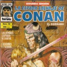 Cómics: LA ESPADA SALVAJE DE CONAN 2ª EDICIÓN. Nº 28. Lote 180444151