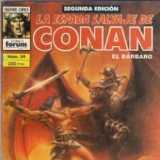 Cómics: LA ESPADA SALVAJE DE CONAN 2ª EDICIÓN. Nº 34. Lote 180444233