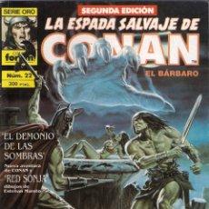 Cómics: LA ESPADA SALVAJE DE CONAN 2ª EDICIÓN. Nº 22. Lote 180444325