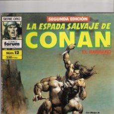 Cómics: LA ESPADA SALVAJE DE CONAN 2ª EDICIÓN. Nº 12. Lote 180444348