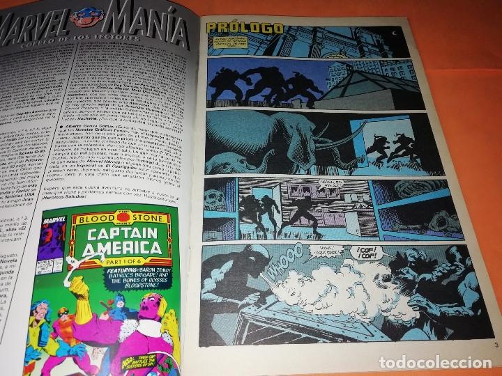 Cómics: CAPITAN AMERICA. MARVEL HEROES FORUM. EN BUSCA DE LA GEMA SANGRIENTA. TRES NUMEROS. - Foto 3 - 180474891