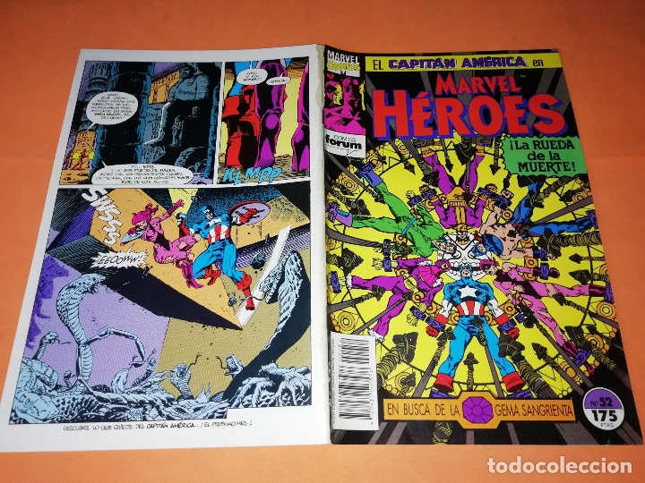 Cómics: CAPITAN AMERICA. MARVEL HEROES FORUM. EN BUSCA DE LA GEMA SANGRIENTA. TRES NUMEROS. - Foto 4 - 180474891