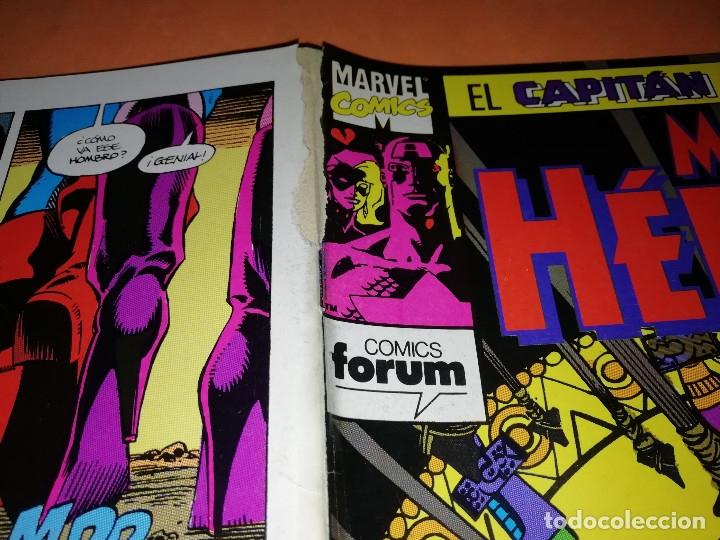 Cómics: CAPITAN AMERICA. MARVEL HEROES FORUM. EN BUSCA DE LA GEMA SANGRIENTA. TRES NUMEROS. - Foto 5 - 180474891