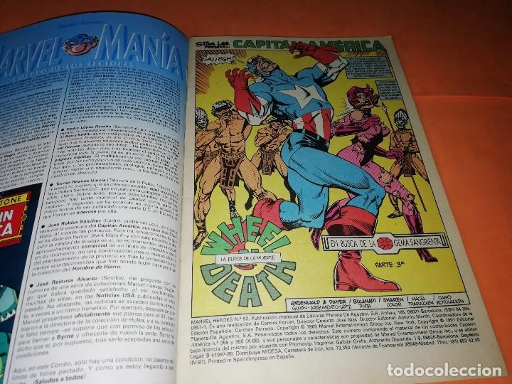 Cómics: CAPITAN AMERICA. MARVEL HEROES FORUM. EN BUSCA DE LA GEMA SANGRIENTA. TRES NUMEROS. - Foto 6 - 180474891