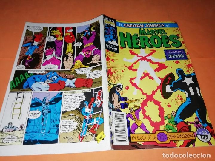 Cómics: CAPITAN AMERICA. MARVEL HEROES FORUM. EN BUSCA DE LA GEMA SANGRIENTA. TRES NUMEROS. - Foto 7 - 180474891