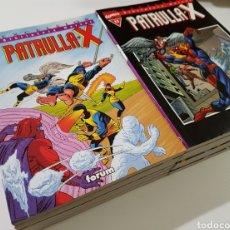 Cómics: BIBLIOTECA MARVEL PATRULLA-X COMPLETA 12 NÚMEROS FORUM. Lote 180510360