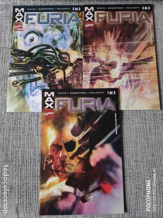 FURIA SERIE COMPLETA COMICS FORUM (Tebeos y Comics - Forum - Furia)