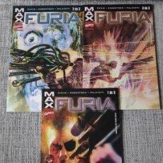 Cómics: FURIA SERIE COMPLETA COMICS FORUM. Lote 180511197
