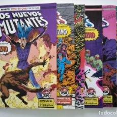 Comics : MARVEL TWO IN ONE LOS NUEVOS MUTANTES 44 45 46 47 48 49. Lote 180861067