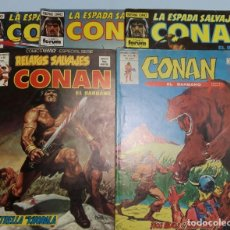 Cómics: LOTE CONAN FORUM. MUNDI COMICS. RELATOS SALVAJES. LA ESPADA SALVAJE.. Lote 180864318
