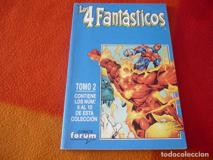 LOS 4 FANTASTICOS VOL. 3 NºS 6 AL 10 RETAPADO ( LARROCA CLAREMONT ) ¡MUY BUEN ESTADO! FORUM MARVEL (Tebeos y Comics - Forum - 4 Fantásticos)