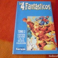 Cómics: LOS 4 FANTASTICOS VOL. 3 NºS 6 AL 10 RETAPADO ( LARROCA CLAREMONT ) ¡MUY BUEN ESTADO! FORUM MARVEL . Lote 180866511