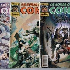 Cómics: CONAN EL BARBARO. N 105, 150, 166. COMIC FORUM.. Lote 180919230