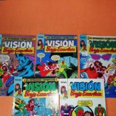 Cómics: LA VISION Y LA BRUJA ESCARLATA. FORUM NUMEROS 3,5,6,7 Y 13. BUEN ESTADO.. Lote 180929913