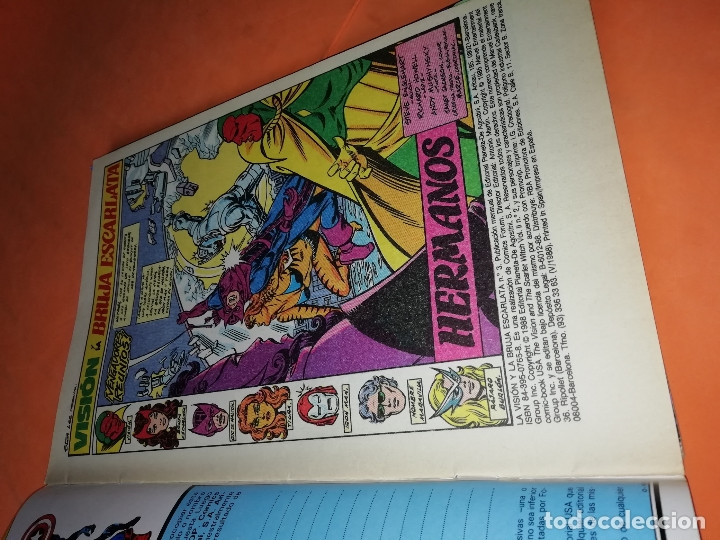 Cómics: LA VISION Y LA BRUJA ESCARLATA. FORUM NUMEROS 3,5,6,7 Y 13. BUEN ESTADO. - Foto 3 - 180929913