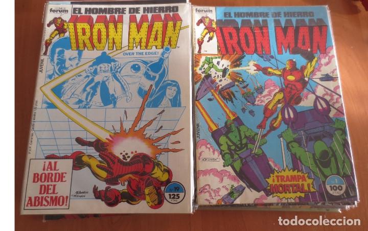EL HOMBRE DE HIERRO IRON MAN CASI COMPLETA COMICS FORUM (Tebeos y Comics - Forum - Iron Man)