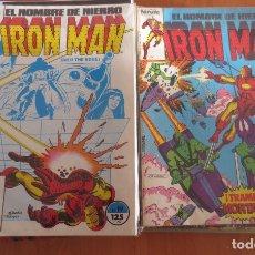 Cómics: EL HOMBRE DE HIERRO IRON MAN CASI COMPLETA COMICS FORUM. Lote 180971180