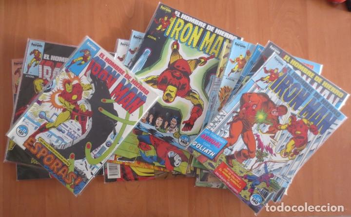 Cómics: EL HOMBRE DE HIERRO IRON MAN CASI COMPLETA COMICS FORUM - Foto 3 - 180971180