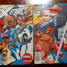 Cómics: X- FORCE. FORUM. N 8 Y 9.. Lote 181028467