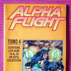 Cómics: COMIC MARVEL RETAPADO ALPHA FLIGHT. N°4. ED PLANETA DE AGOSTINI. AÑO 1985.. Lote 181028490