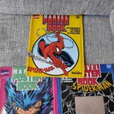 Cómics: MARVEL POSTER BOOK COMPLETA 3 NUMEROS COMICS FORUM. Lote 181080046
