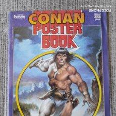 Cómics: CONAN POSTER BOOK NUMERO UNICO COMICS FORUM. Lote 181080155