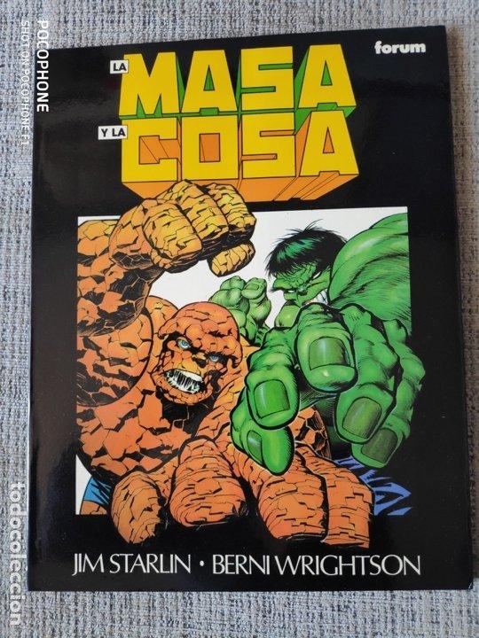 LA MASA Y LA COSA NOVELAS GRAFICAS MARVEL COMICS FORUM (Tebeos y Comics - Forum - Prestiges y Tomos)