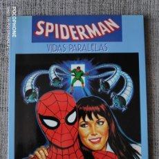 Cómics: SPIDERMAN VIDAS PARALELAS NOVELAS GRAFICAS MARVEL COMICS FORUM. Lote 181090653