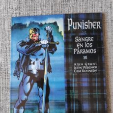 Cómics: PUNISHER SANGRE EN LOS PARAMOS NOVELAS GRAFICAS MARVEL COMICS FORUM. Lote 181091095