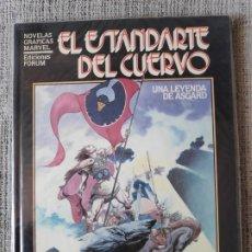 Cómics: EL ESTANDARTE DEL CUERVO NOVELAS GRAFICAS MARVEL COMICS FORUM. Lote 181091891