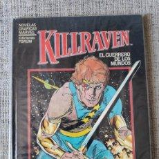 Cómics: KILLRAVEN NOVELAS GRAFICAS MARVEL COMICS FORUM. Lote 181092088
