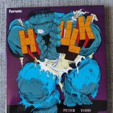 Cómics: HULK ZONA NUCLEAR OBRAS MAESTRAS COMICS FORUM. Lote 181093753