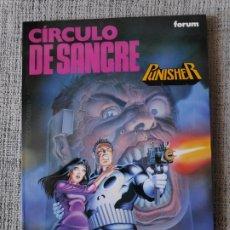Cómics: PUNISHER CIRCULO DE SANGRE OBRAS MAESTRAS COMICS FORUM. Lote 181093962