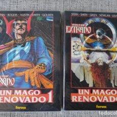 Cómics: DOCTOR EXTRAÑO UN MAGO RENOVADO 2 TOMOS OBRAS MAESTRAS COMICS FORUM. Lote 181094250