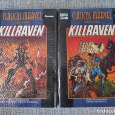 Cómics: KILLRAVEN 2 TOMOS CLASICOS MARVEL COMICS FORUM. Lote 181094500