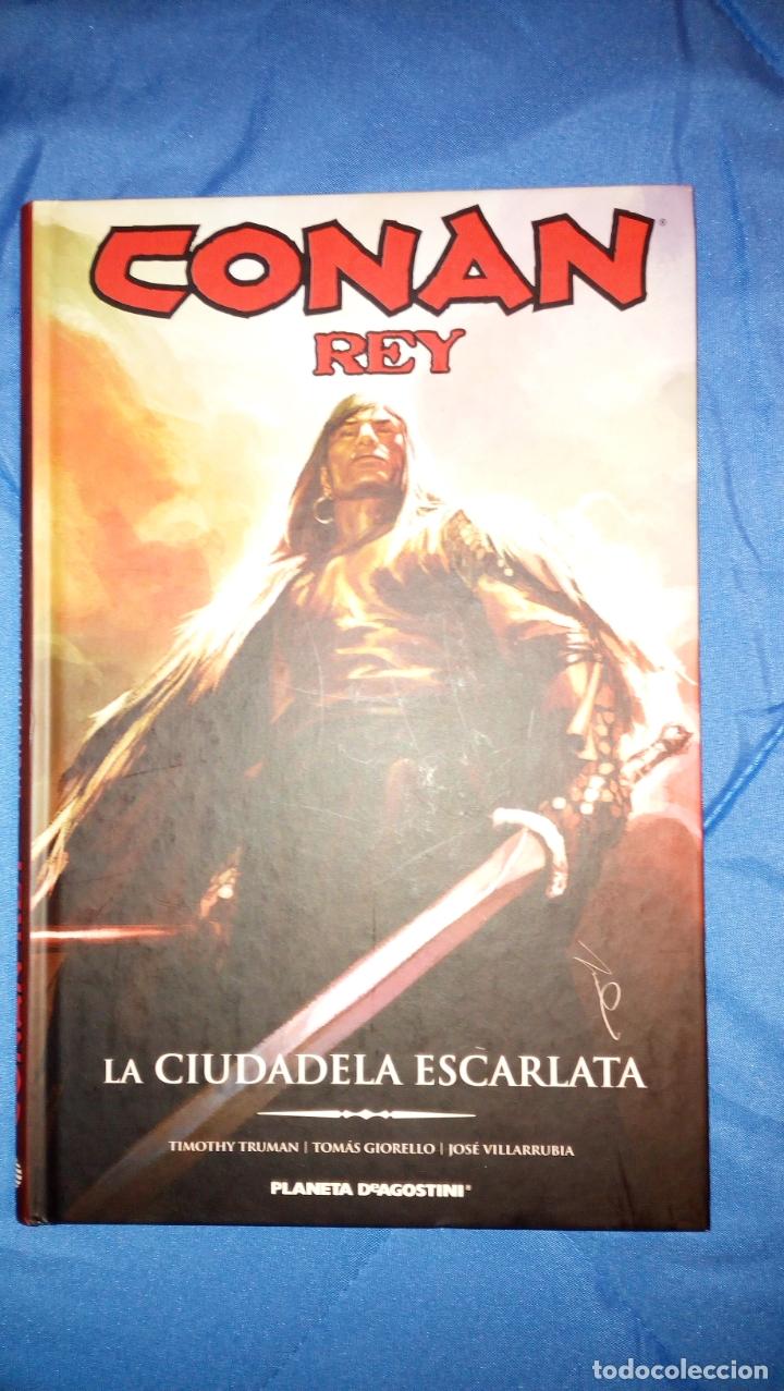 CONAN REY : LA CIUDAD ESCARLATA ¡ ONE SHOT 120 PAGINAS ! TIMOTHY TRUMAN - TOMAS GIORELLO / INTEGRAL (Tebeos y Comics - Forum - Conan)