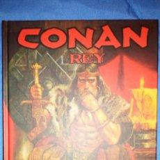 Cómics: CONAN REY, LA HORA DEL DRAGÓN, DE TIMOTHY TRUMAN, TOMÁS GIORELLO OBRA INTEGRAL. Lote 181112897