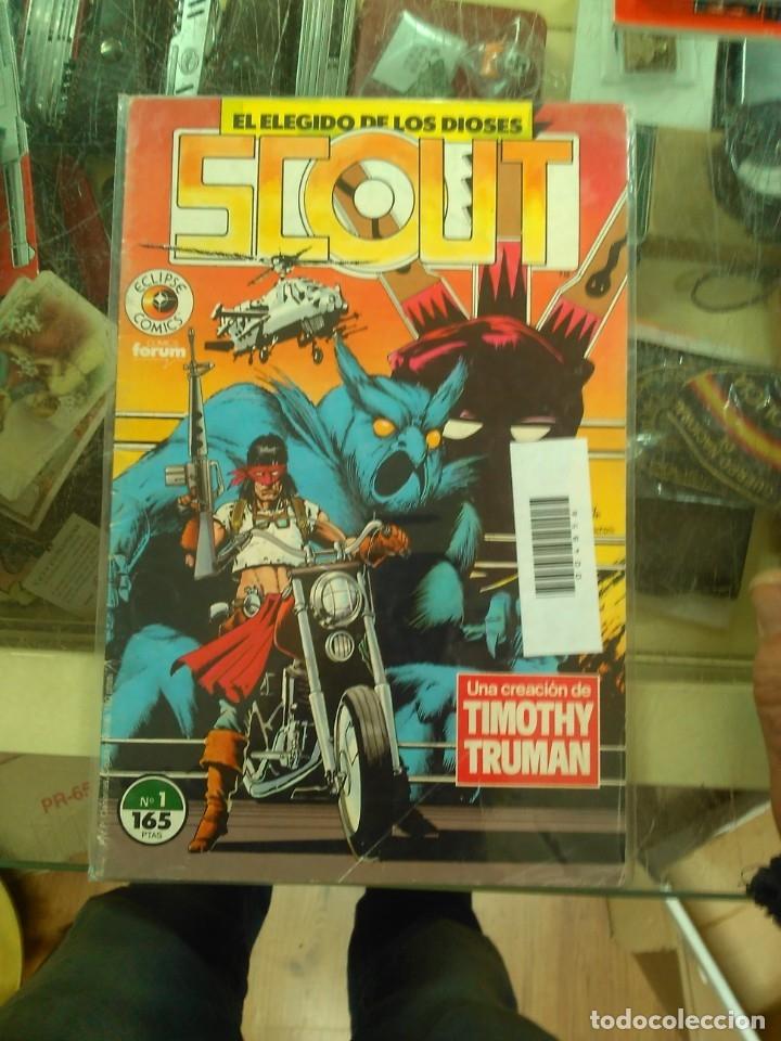 SCOUT N° 1 ECLIPSE COMICS FORUM (Tebeos y Comics - Forum - Otros Forum)