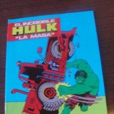 Cómics: CUADERNO PARA COLOREAR MARVEL LAIDA 1981 - HULK LA MASA Nº 7 - STOCK DE TIENDA SIN USAR. Lote 181130093