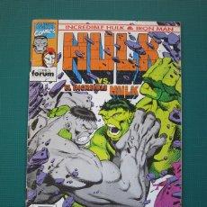 Cómics: COMICS FORUM - HULK VS. EL INCREIBLE HULK # 8. Lote 181134811