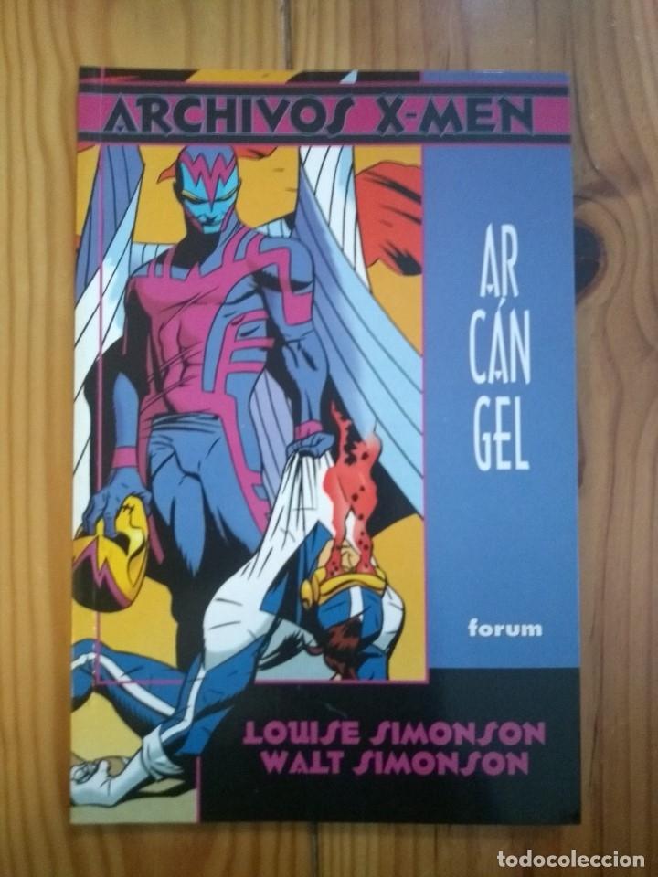 ARCHIVOS X MEN: ARCÁNGEL - LOUISE & WALTER SIMONSON - MUY BUEN ESTADO D20 (Tebeos y Comics - Forum - Factor X)