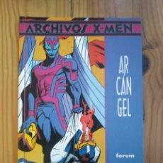 Cómics: ARCHIVOS X MEN: ARCÁNGEL - LOUISE & WALTER SIMONSON - MUY BUEN ESTADO D20. Lote 181135155
