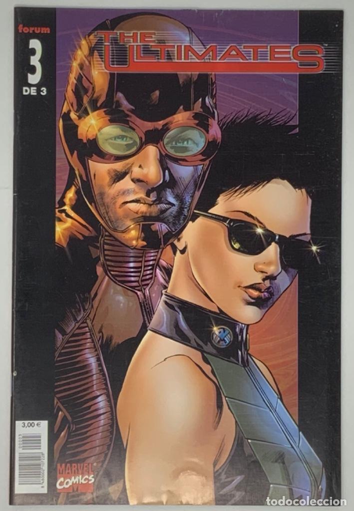 THE ULTIMATES NÚMERO 3 DE 3 MARVEL CÓMICS FORUM 2003 MARCK MILLAR, BRYAN HITCH, ANDREW CURRIE. (Tebeos y Comics - Forum - Otros Forum)