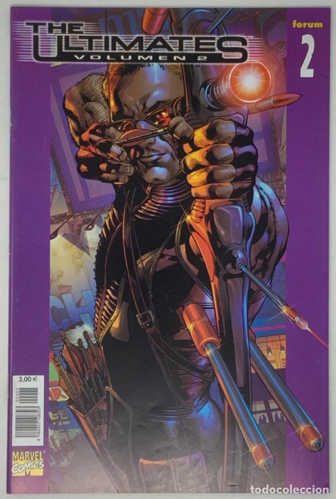 THE ULTIMATES VOLUMEN 2 NÚMERO 2 MARVEL CÓMICS FORUM 2004 MARCK MILLAR, BRYAN HITCH, ANDREW CURRIE. (Tebeos y Comics - Forum - Otros Forum)