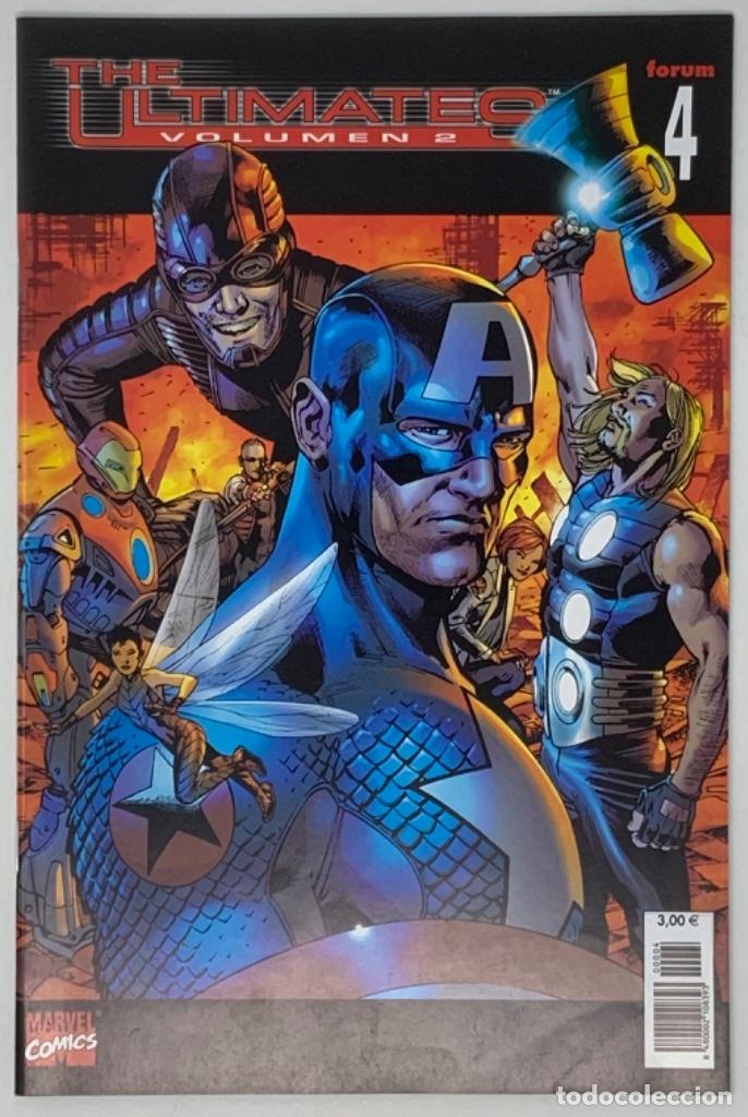 THE ULTIMATES VOLUMEN 2 NÚMERO 4 MARVEL CÓMICS FORUM 2004 MARCK MILLAR, BRYAN HITCH, ANDREW CURRIE. (Tebeos y Comics - Forum - Otros Forum)